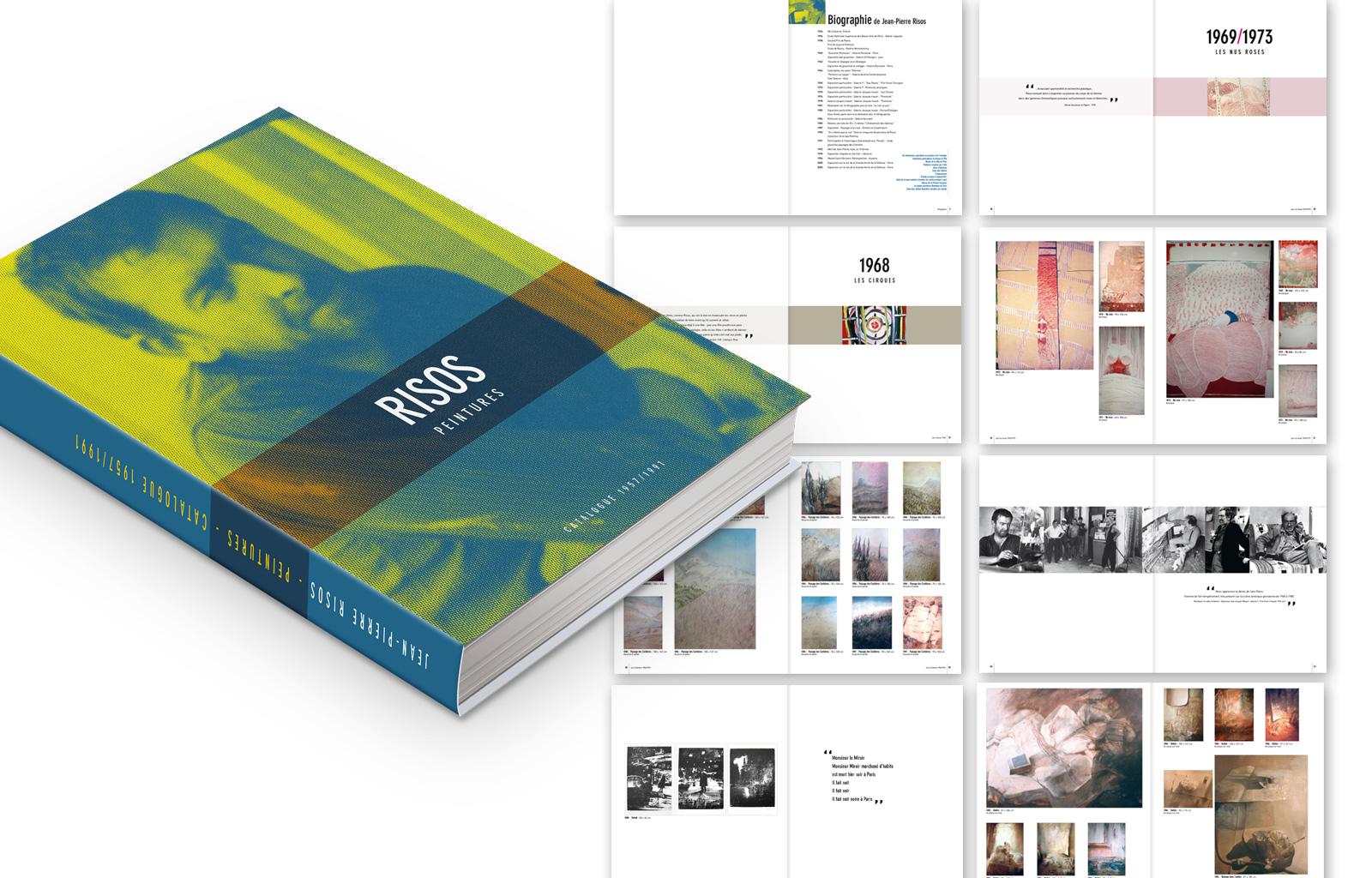 Catalogue des œuvres du peintre Jean-Pierre RISOS - 120 pages