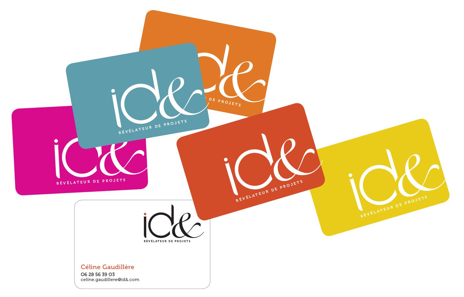 ID& > Conception logo pour la société ID&